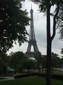 EIFFEL TOWER IN THE PARK - Paris, France