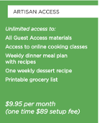 ARTISAN MEAL PLAN ANNUAL ACCESS