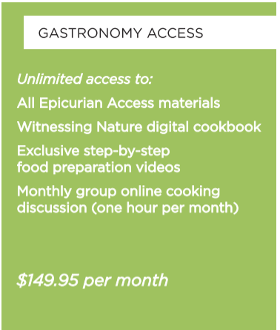 GASTRONOMY MEAL PLAN ANNUAL ACCESS