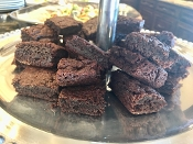Gooey Dark Chocolate Brownies 2 dozen